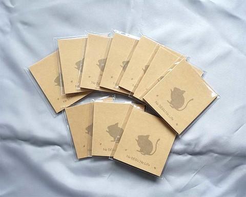 デグークラフト付箋紙3冊組