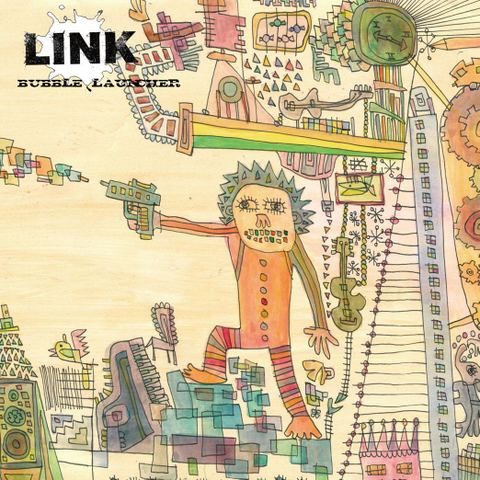 ■LINK/BUBBLE LAUNCHER (7inch+CD)