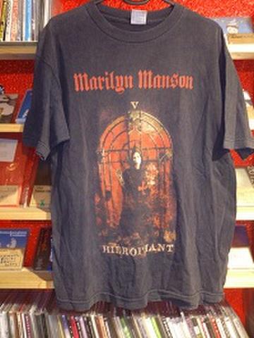 ■Marilyn Manson 中古Tシャツ