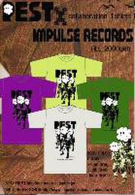 ■IMPULSE RECORDS+REST Tシャツ