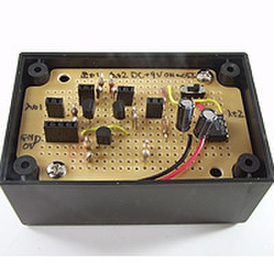 トランジスタの差動増幅回路を作ろう!(DEN-L-078)