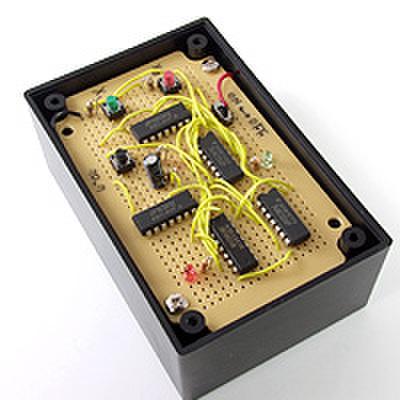 順序回路(自動販売機)を作ろう!(DEN-L-085)