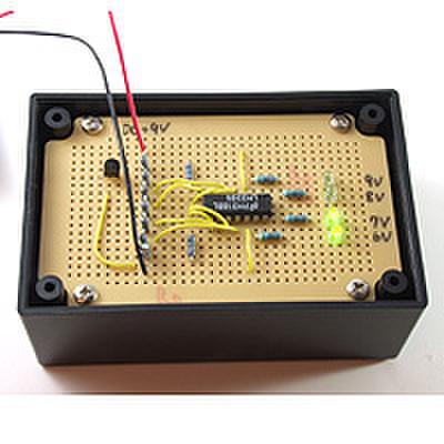 バッテリーチェッカーを作ろう!(DEN-L-092)