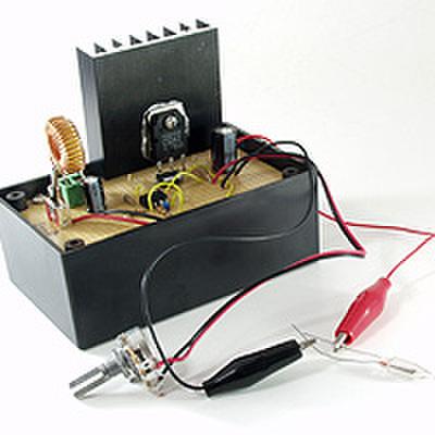 昇圧回路(DC6VからDC100V)を作ろう!(DEN-L-112)
