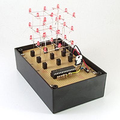 LEDキューブを作ろう!(DEN-L-091)