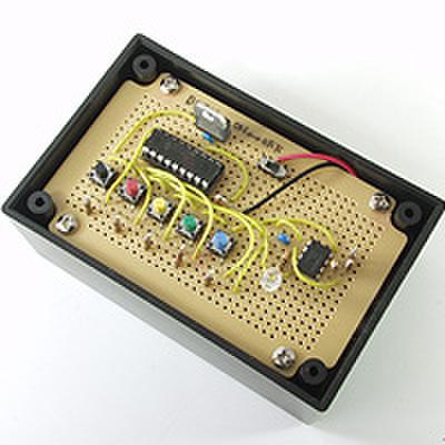 赤外線リモコン送信機を作ろう!(DEN-L-109)