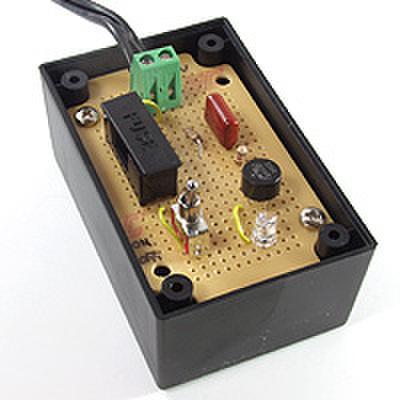 AC100VでLEDを光らせる回路 を作ろう!(DEN-L-070)