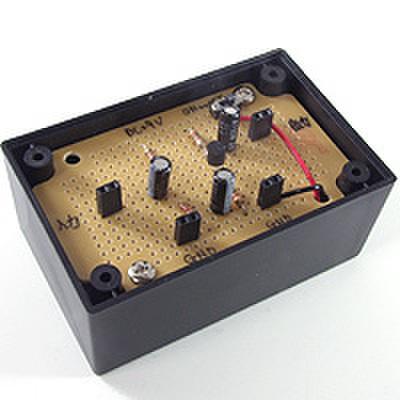 FETのソース接地回路(JFET Nチャンネル)を作ろう!(DEN-L-079)
