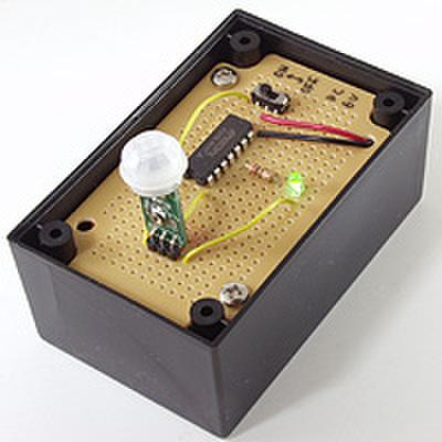 人感センサー(焦電モジュール)を作ろう!(DEN-L-102)