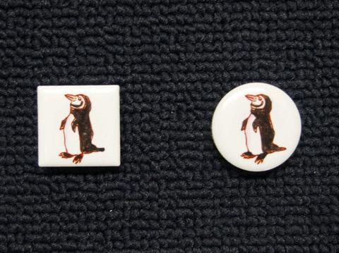 手描きモザイクタイル ペンギン