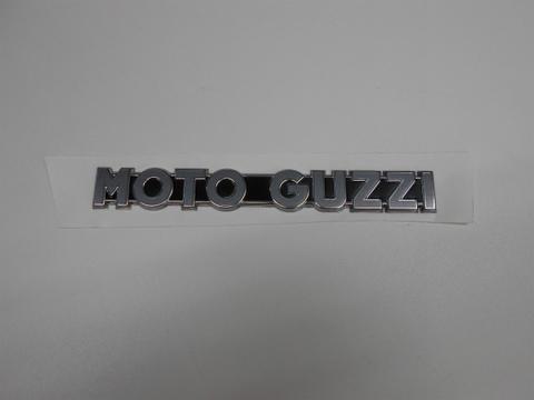 MOTO GUZZI・タンクエンブレムV7ⅡStone用(文字色、銀MY15)2枚SET
