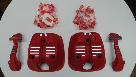 V7Ⅲ・V9シリーズ用 シリンダーヘッドカバー KIT【赤】