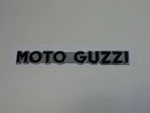 MOTO GUZZI・タンクエンブレムV7Stone用(文字色、黒MY13)2枚SET