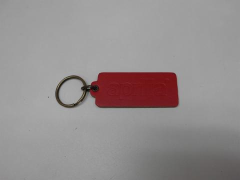 アプリリア・キーホルダー(長方形、赤)
