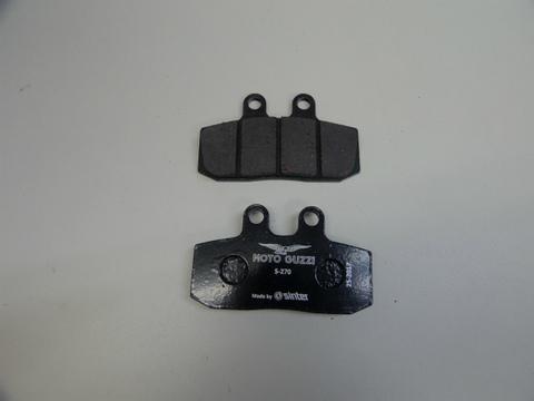 MotoGuzzi V9・V7Ⅱ/Ⅲ用リアブレーキーパット