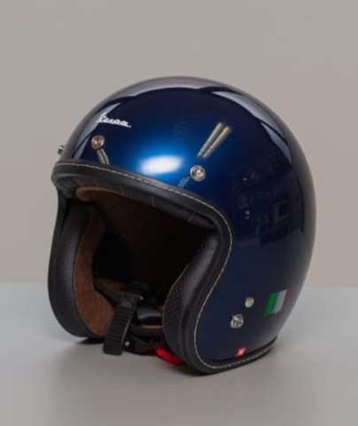 VESPAヘルメット Deep Blue(青)