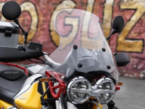 Moto Guzzi V85TT用ツーリング、ウィンドスクリーン