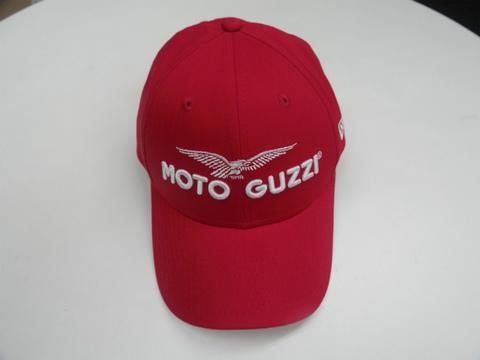 Moto Guzzi ベースボールキャップ【レッド】
