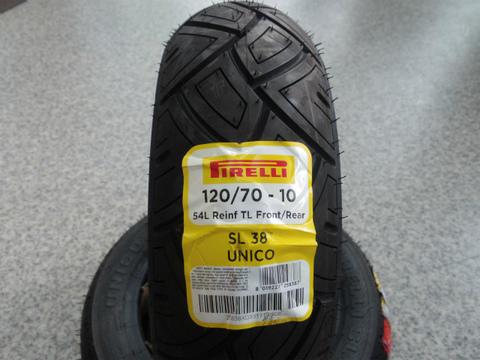 SL38・120/70-10 (ET4 125/150用)リアタイヤ