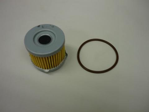 スカラベオ125/125ie/200・エンジンオイルフィルター+OリングSET
