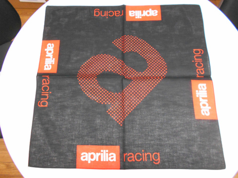aprilia Racing・バンダナ【ブラック】