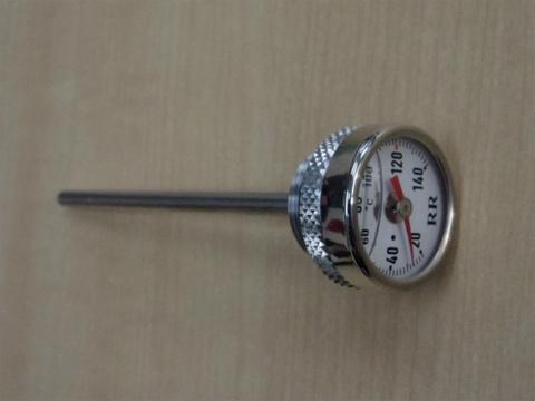 油温計付きオイル注入口ディップスティック V7・V9用