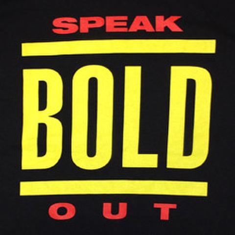 "BOLD ""Speak Out Logo"""