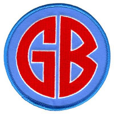 "GORILLA BISCUITS ""gb"" patch"