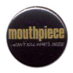 MOUTHPIECE logo pin