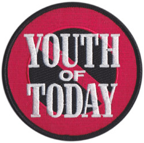 "YOUTH OF TODAY ""No More"" Patch"