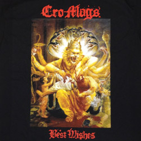 "CRO-MAGS ""Best Wishes"" Blk"