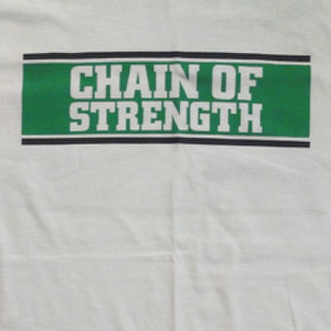 "CHAIN OF STRENGTH ""The One Thing That"" White"