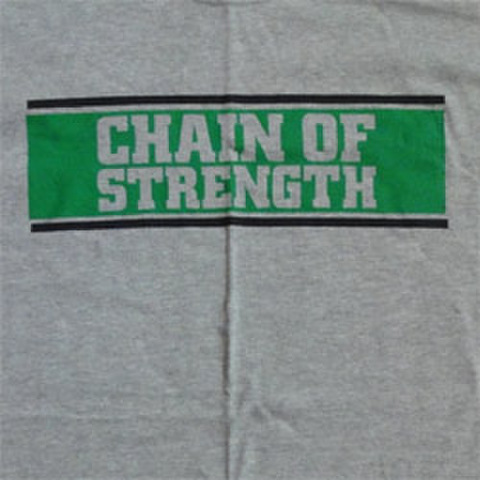 "CHAIN OF STRENGTH ""The One Thing That ...Longsleeve"""