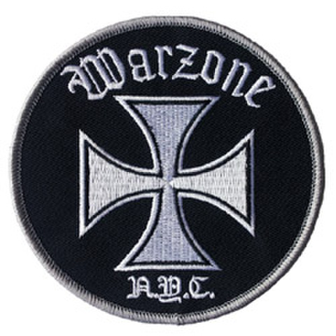 "WARZONE ""Iron Cross"" Patch"