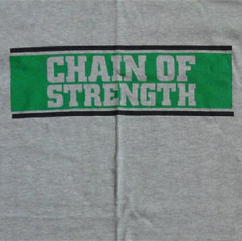 "CHAIN OF STRENGTH ""The One Thing That"" Grey"
