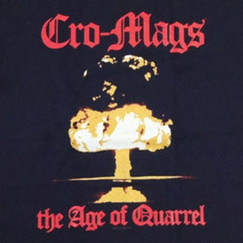 "CRO-MAGS ""Age Of Quarrel cover"""