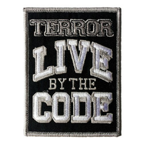 "TERROR ""Live By The Code"" Patch"