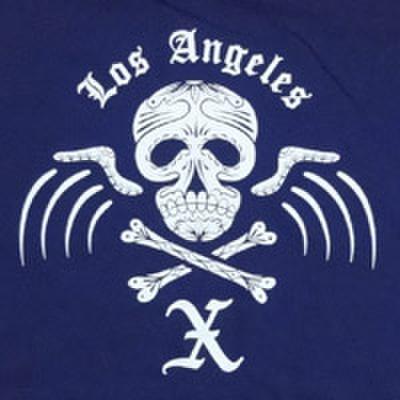 "X ""dead skull girls tee"""
