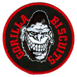 "GORILLA BISCUITS ""face"" patch"