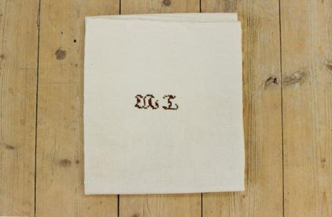 スウェーデンで見つけたリネン素材の厚手の布巾(60×73cm)1