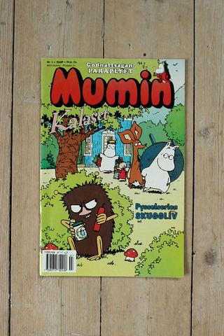 MUMIN(ムーミン)スウェーデン語マガジン(カラー)2000年3号