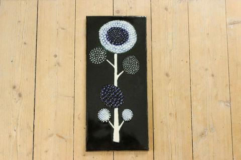 *レア*Rorstrand(ロールストランド)Sylvia Leuchovius ひまわりの陶板