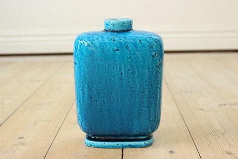 Rorstrand(ロールストランド)/Chamotte 花瓶/花器(Vase)ブルー