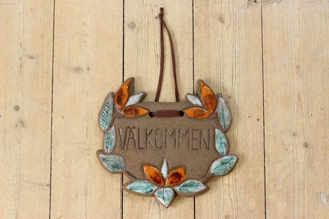 Julie Keramik(ジュリー・ケラミック)ウェルカム陶板