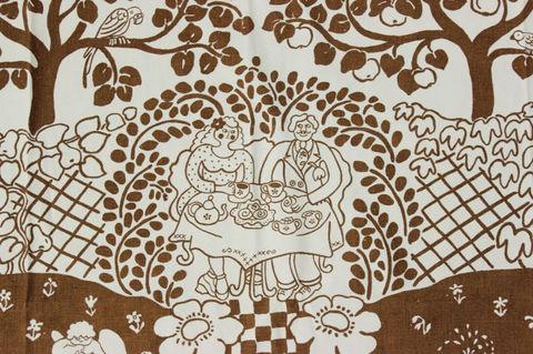 秘密のお茶会ファブリック(196×120cm)