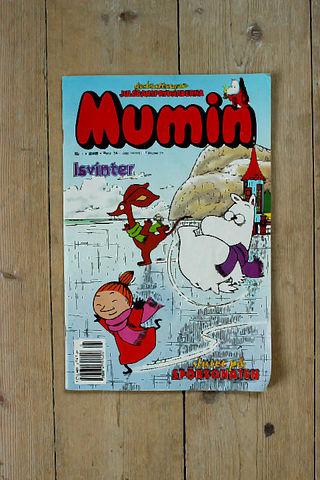 MUMIN(ムーミン)スウェーデン語マガジン(カラー)2000年1号