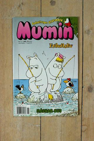 MUMIN(ムーミン)スウェーデン語マガジン(カラー)1999年11号