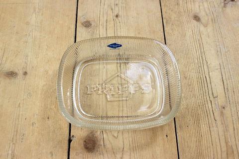 Nuutajarvi(ヌータヤルヴィ)Pripps(プリップス)のクリスタルトレイ/アッシュトレイ/灰皿
