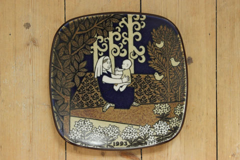 ARABIA(アラビア)/Kalevalaイヤープレート1993年(箱付き)