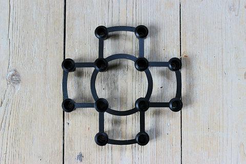 KRONBORG(クロンボーデザイン)/Aida(アイダ)デンマークの鉄のキャンドルホルダー(箱付き)